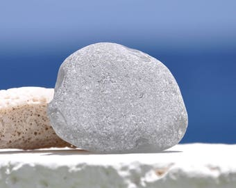 Extra Large Grey Sea Glass, Authentic Sea Glass, Rare Beach Glass, Genuine Sea Glass, Rare Sea Glass, Photo Prop, Display Piece, Gray