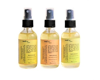 Organic  Face Cleansing Oil, Natural Makeup Remover, Revitalizing and Moisturizing Face Cleanser, Gifts for Her, Free of Sulfates, Parabens,