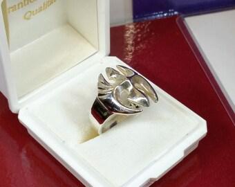 20 mm ring Silver 925 medieval icon rar SR276