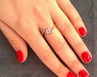 14K Gold Ring 14k Gold Ring for Women Gold Ring Gold Ring 14k Gold Rings for Women Gold Ring For Women Unique Gift Ideas Petite Ring