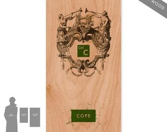 Crtl-C (Green) - Large Pop Art Print on Wood