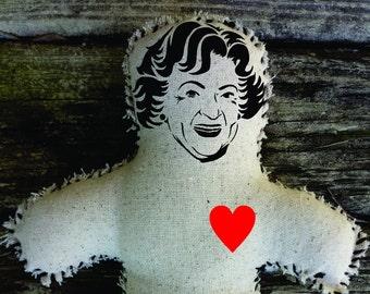 Betty White Voodoo Doll