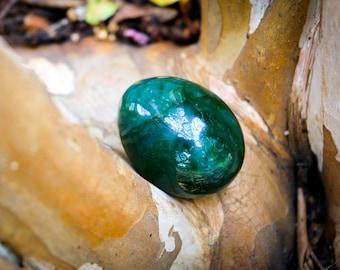 Large Nephrite Jade Egg