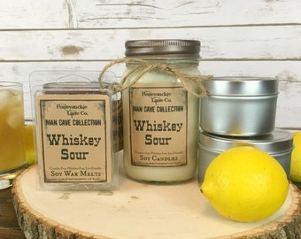 Whiskey Gifts, Whiskey Candle, Groomsmen gift, Gifts for Him, Candles for Men, Man Candle, Man Cave Gifts, Manly Gift,Gifts for Dad,