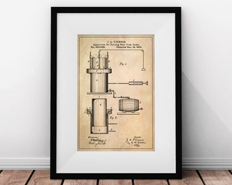 Printable Wall Art, Beer Art, Beer Gift, Beer Casks, Beer Wall Art, Bar Decor, Bar Prints, Gifts for Him, Patent Prints, Beer Gifts for Men