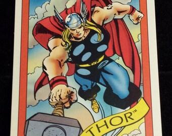 Thor #18 - 1990 Marvel Universe Series 1 Base Trading Card