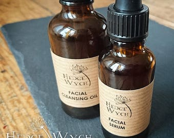 Facial Cleansing Oil (natural facial oil, oil cleanser, OCM cleanser)