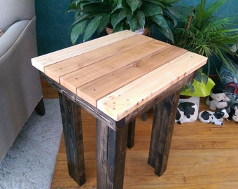 Reclaimed Rustic Side/Accent Table
