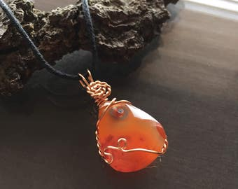 Small Carnelian Necklace