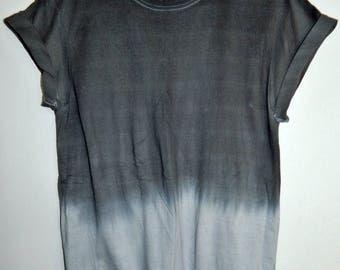 Tie Dye T-Shirt acid wash T-shirt hipster festival grunge marble Retro 90s indie dip dye unisex rave skate top
