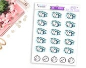 Sexy Time Beedoo BD-037 | 20 Hand Drawn Planner Stickers