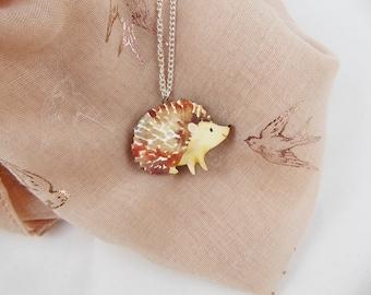 Happy Hedgehog Necklace