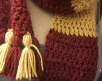 Harry Potter House Scarf - MADE TO ORDER