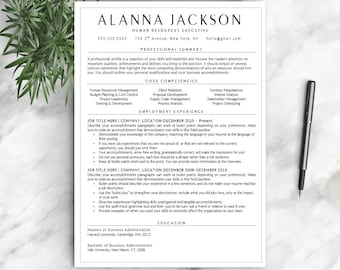 professional resume template for word 1 2 and 3 page resume template cover - Free Resumes Templates