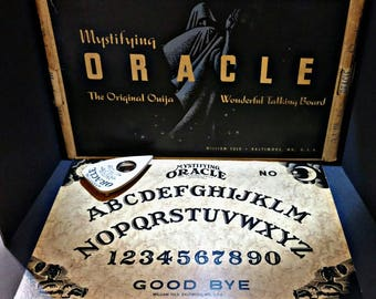 Mystifying Oracle - The Original Ouija - Complete with Box & Planchette