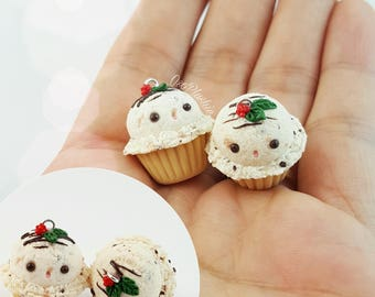 Cookie Dough IceCream Cuppycakes