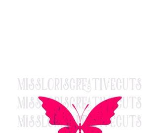 Butterfly distressed SVG Cut file  Cricut explore file t-shirt decal wood signsscrapbook vinyl decal wood sign t shirt cricut cameo