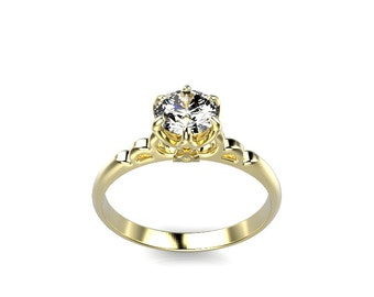 Zelda Engagement Ring Triforce Mod 1