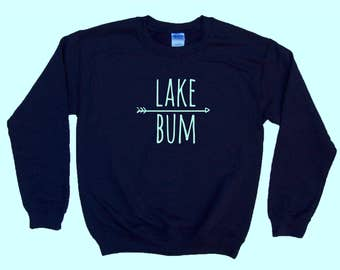 Lake Bum - Crewneck Sweatshirt