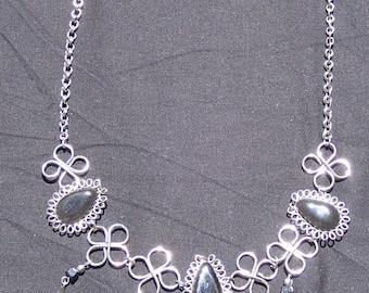 Argentinian Elegant Onyx Necklace