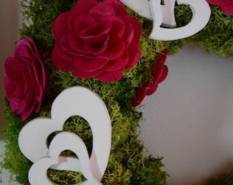DIY Heart's Wreath