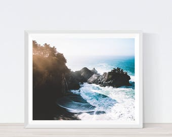 Big Sur- Califonia, cliffs, coastal, California Prints, Nature Print, cliffs print, California Photography, California Poster, #C17