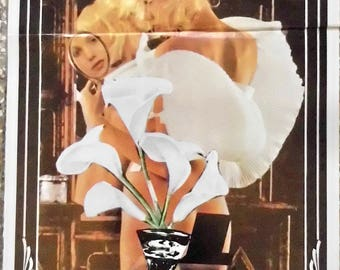 "Erotic movie poster hard ""restless"" For Richer for Poorer ""Senses"". Gerard Damiano, 1980. Georgina Spelvin, the original movie Poster."