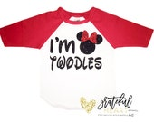 I'm Twodles shirt, I'm twodles shirt, Minnie Mouse shirt, Minnie Mouse twodles, Oh twodles shirt, Minnie mouse birthday outfit, Minnie Mouse