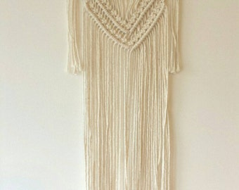 Macrame WallHanging / Modern Macrame curtain / Wall Art / Boho chic Wall Hanging / Wall Tapestry / Macrame Tapestry / bohemian wedding deco