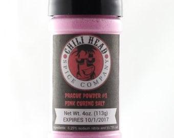 Curing salt insta cure sel rose pink prague powder #1 4oz make your own bacon jerky sausage