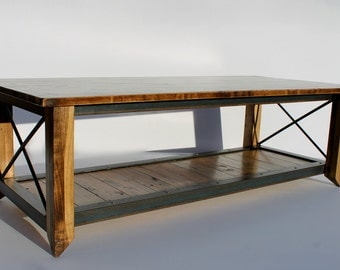 pallet furniture coffee table. coffee table reclaimed wood industrial pallet furniture