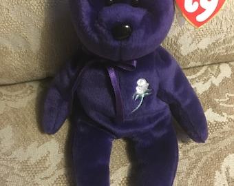 SALE: TY Beanie Baby Princess (Diana tribute bear)