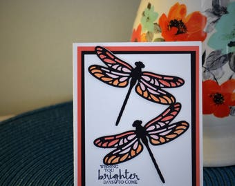 Thinking of You Card, Handmade Card, StampinUp Card