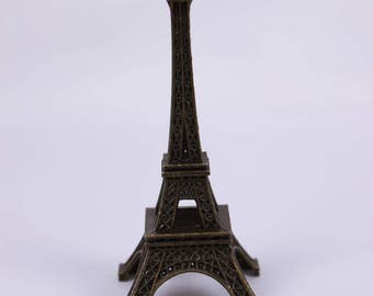 D034 Dollhouse Doll Miniature Display Eiffel Tower Blythe Barbie Bjd Diorama
