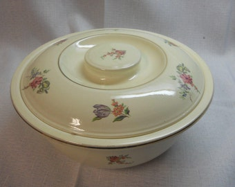 Priscilla by Household Institute covered vegetable dish