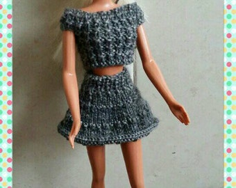 Barbie top and matching skirt outfit design(62)