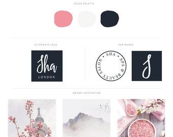 OOAK Branding - Beauty Salon & Spa Logo - Hairstylist Logo - Spa Branding - Wedding Photography Logo - Floral Logo - Business Cards Design