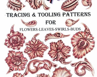 NEW! Sheridan Style - Patterns for Flowers & Leaves by Chan Geer (Leather Designs) [DIGITAL DOWNLOAD]