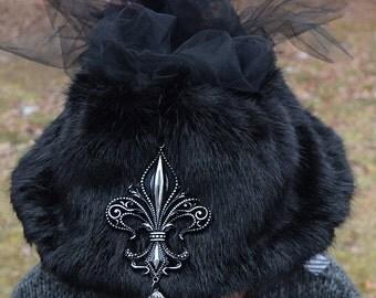 Black Voodoo Hat