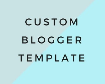 Custom Blogger Template Design Responsive Minimal Blogspot for Lifestyle, Fashion, Book, Travel, Food Blogger with Free Installation