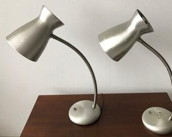 Pair Cobra Lamps