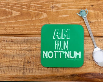 Nottinghamshire Place name coasters