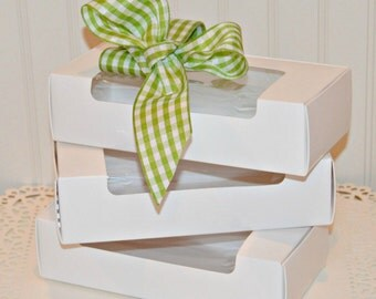 Cake Slice Boxes, White Cake Box, Cupcake Boxes, Wedding Cake Box, Favor Boxes, Candy Box, Gift Box, Baby Shower Favors, Packaging, Catering