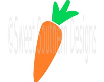Carrot bunny Easter rabbit SVG instant download design for cricut or silhouette