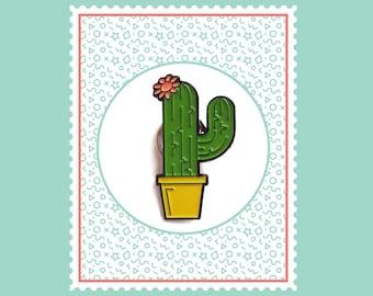 Cactus Plant Enamel Pin