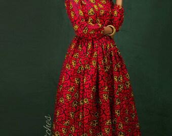Kiki  African maxi dress , African maxi dress, Long African dress, Maxi dress, Ankara dress, African print, Ankara Print, Maxis