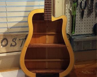 Cort guitar shelf LED light