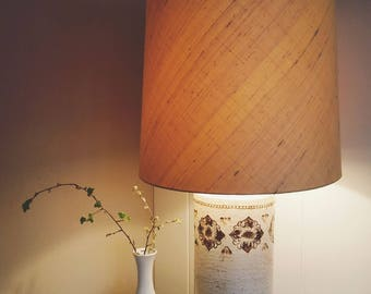 Free shipping! Rare Bitossi lamp for Bergboms 1960 large table lamp