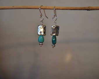 Howlite and Silver