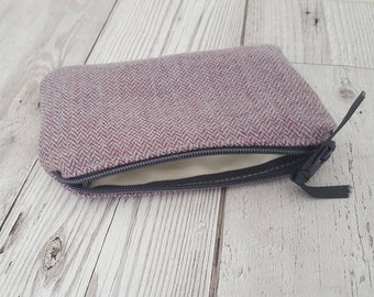 Coin purse in Isle Mill fabric, fully lined, handmade, Scottish, girls gift